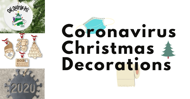 Coronavirus Christmas Decorations