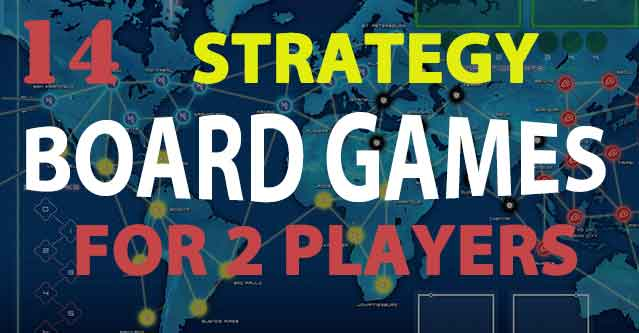 Strategy Games Board Games 2 Player